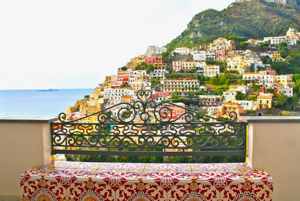POSITANO BETWEEN SKY AND SEA