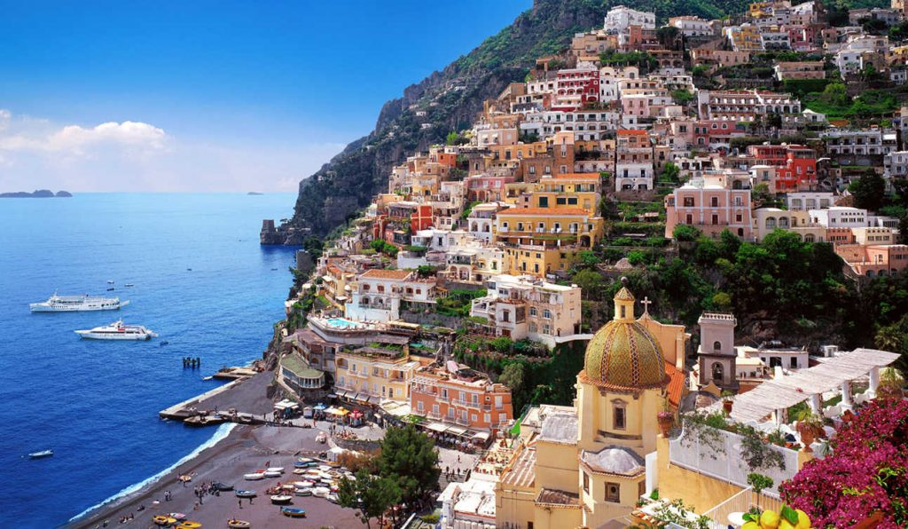 POSITANO A MUST FOR A ROMATIC HOLIDAY