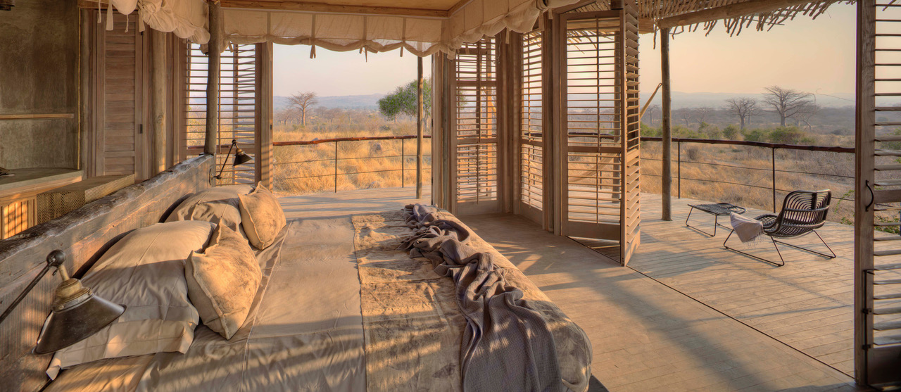 Double Room With Baobab Forest View