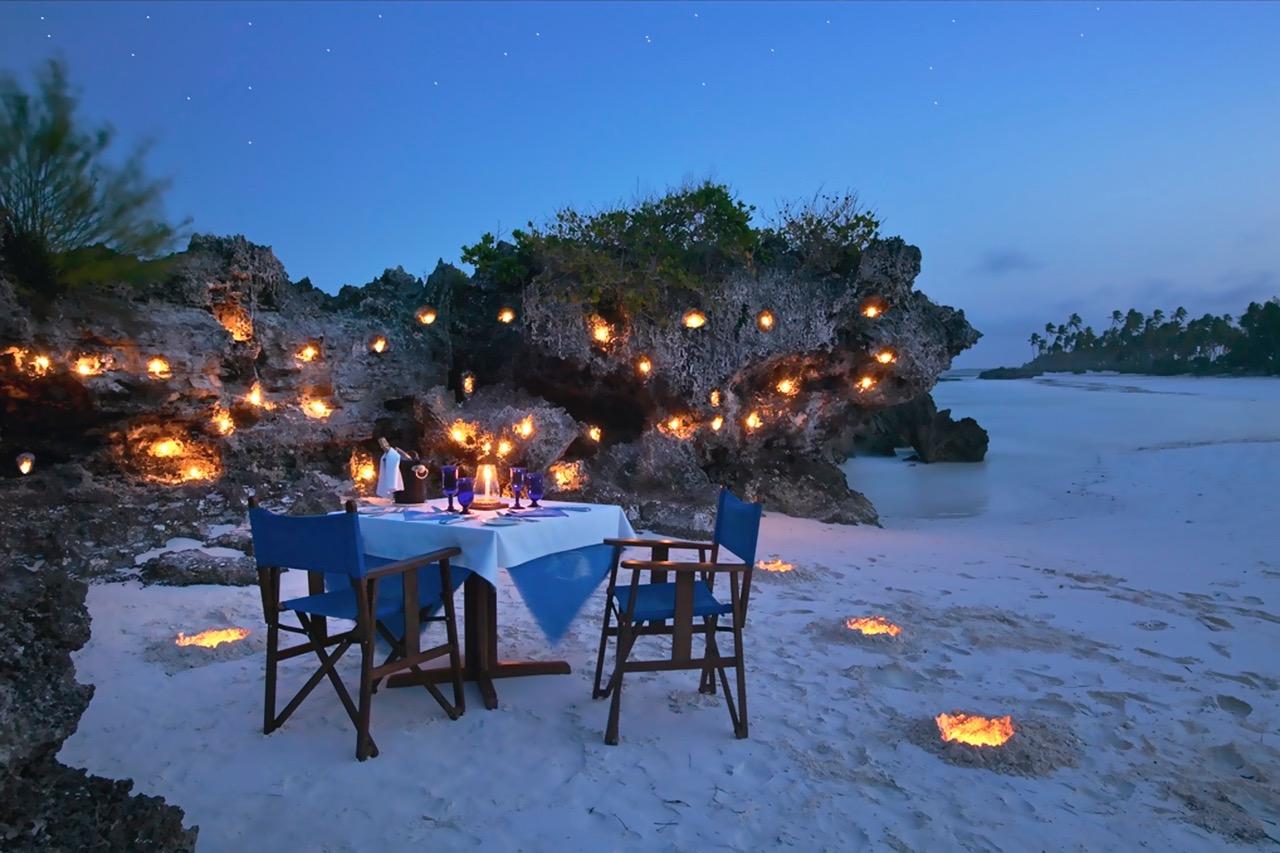 Matemwe Romantic Beach Dinner