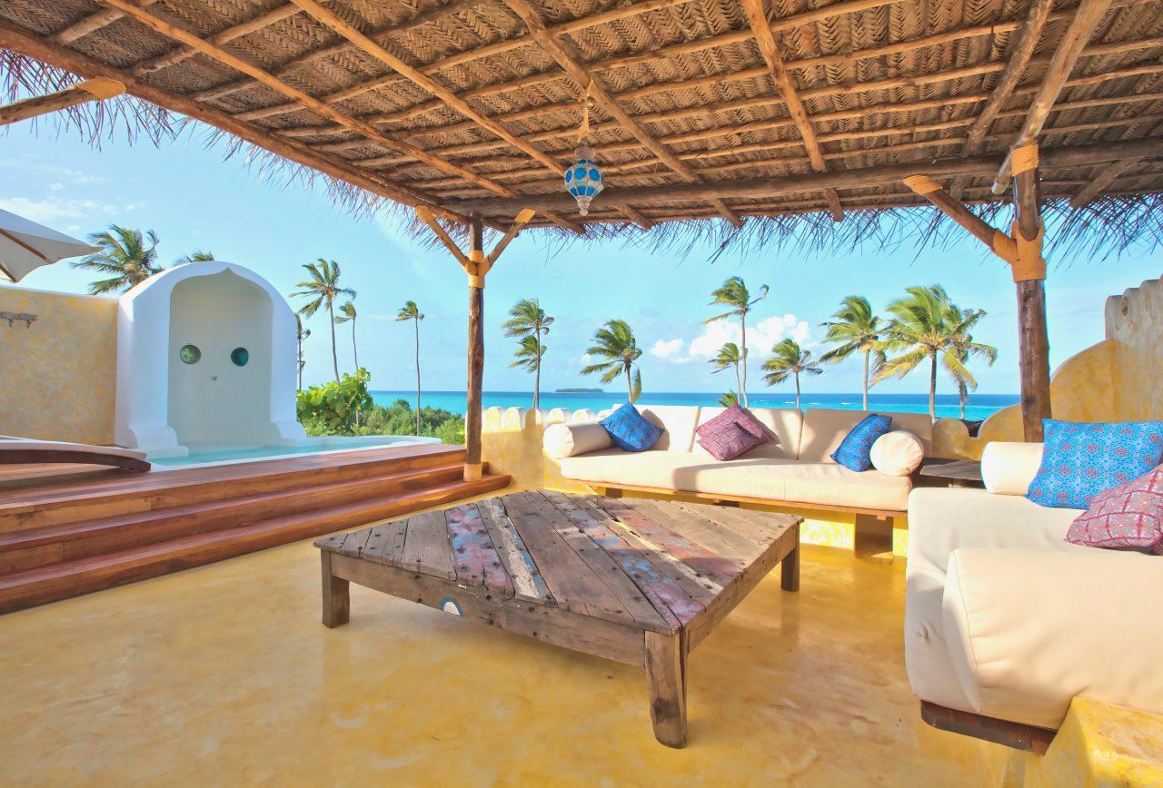 Spices Retreat Guest Suite Verandah Seaview