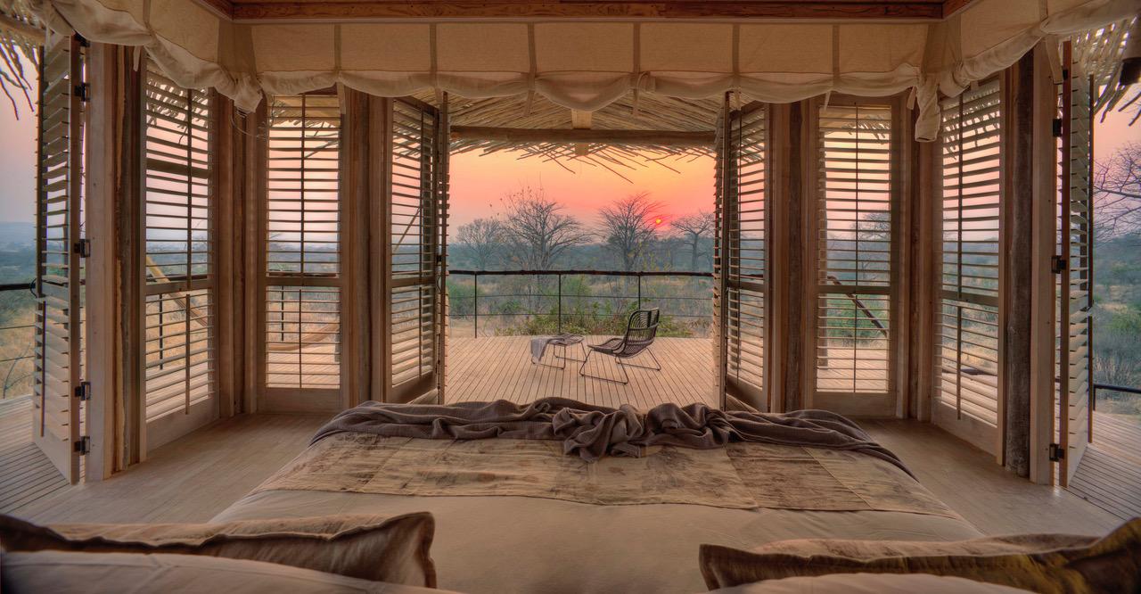 Sunset From Room Jabali