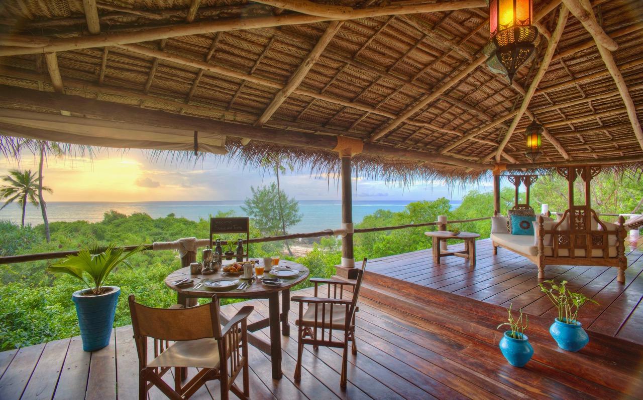 Matemwe Retreat Outdoor Decki