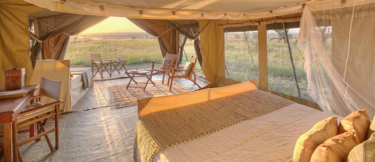 Olakira Sunrise From Bed Tent