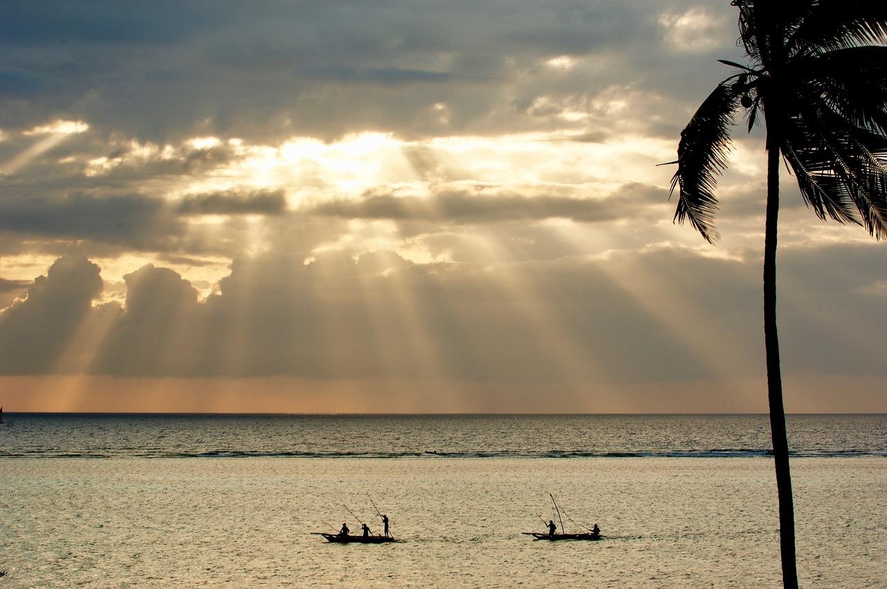 Matemwe Seaview From Chalet Fishermen