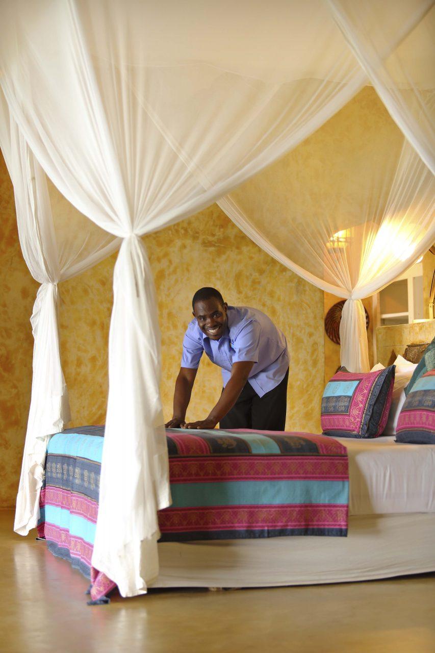 Matemwe Retreat Baedroom