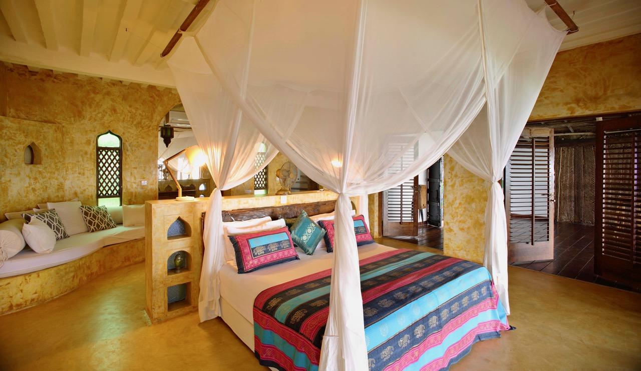Matemwe Retreat Bedroom