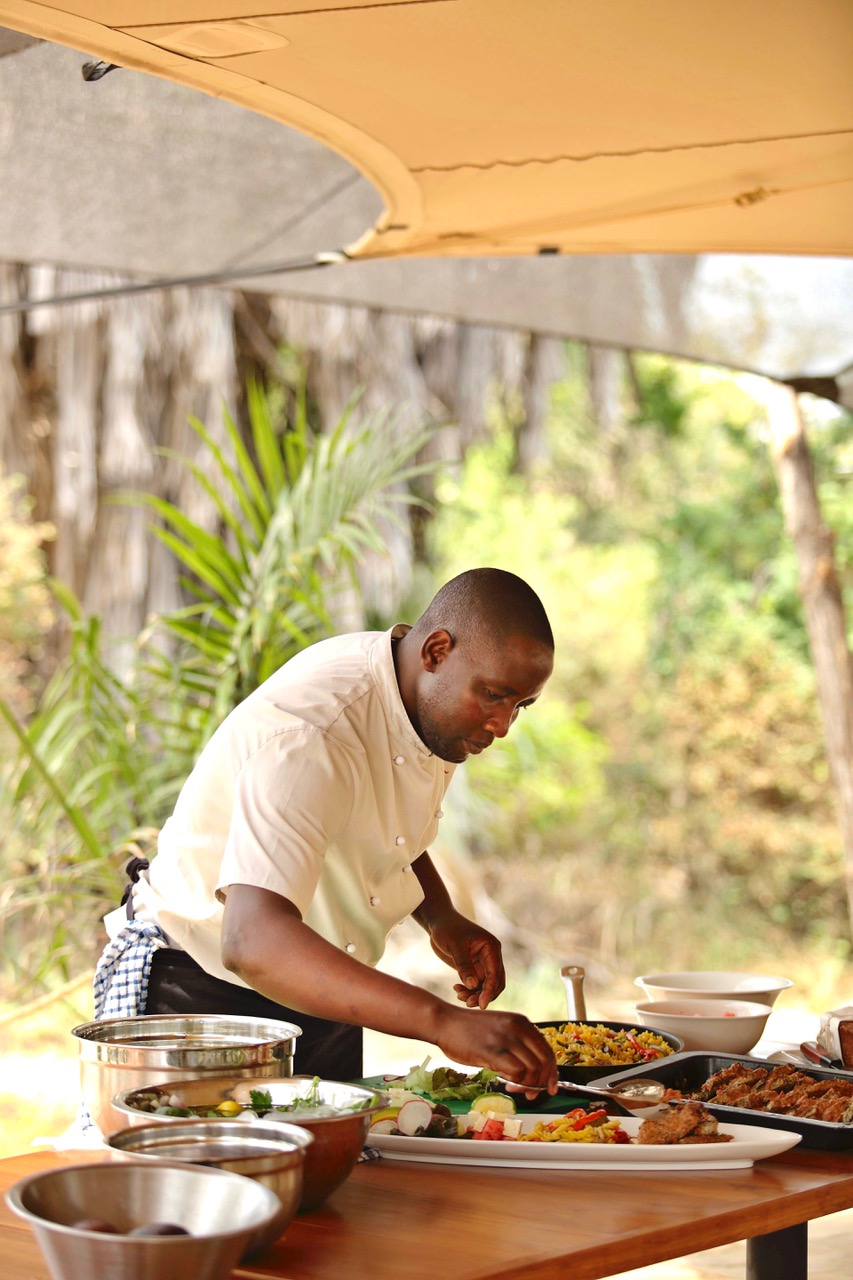 Chef Serving Lunch 3