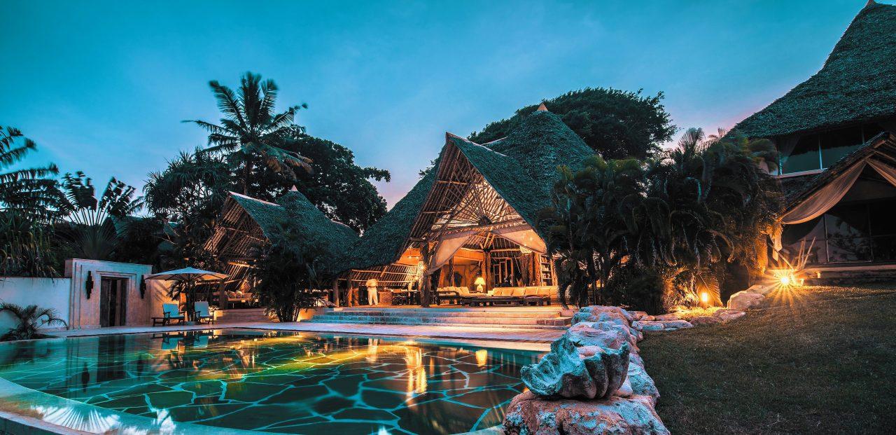 Garden Villa At Night 2