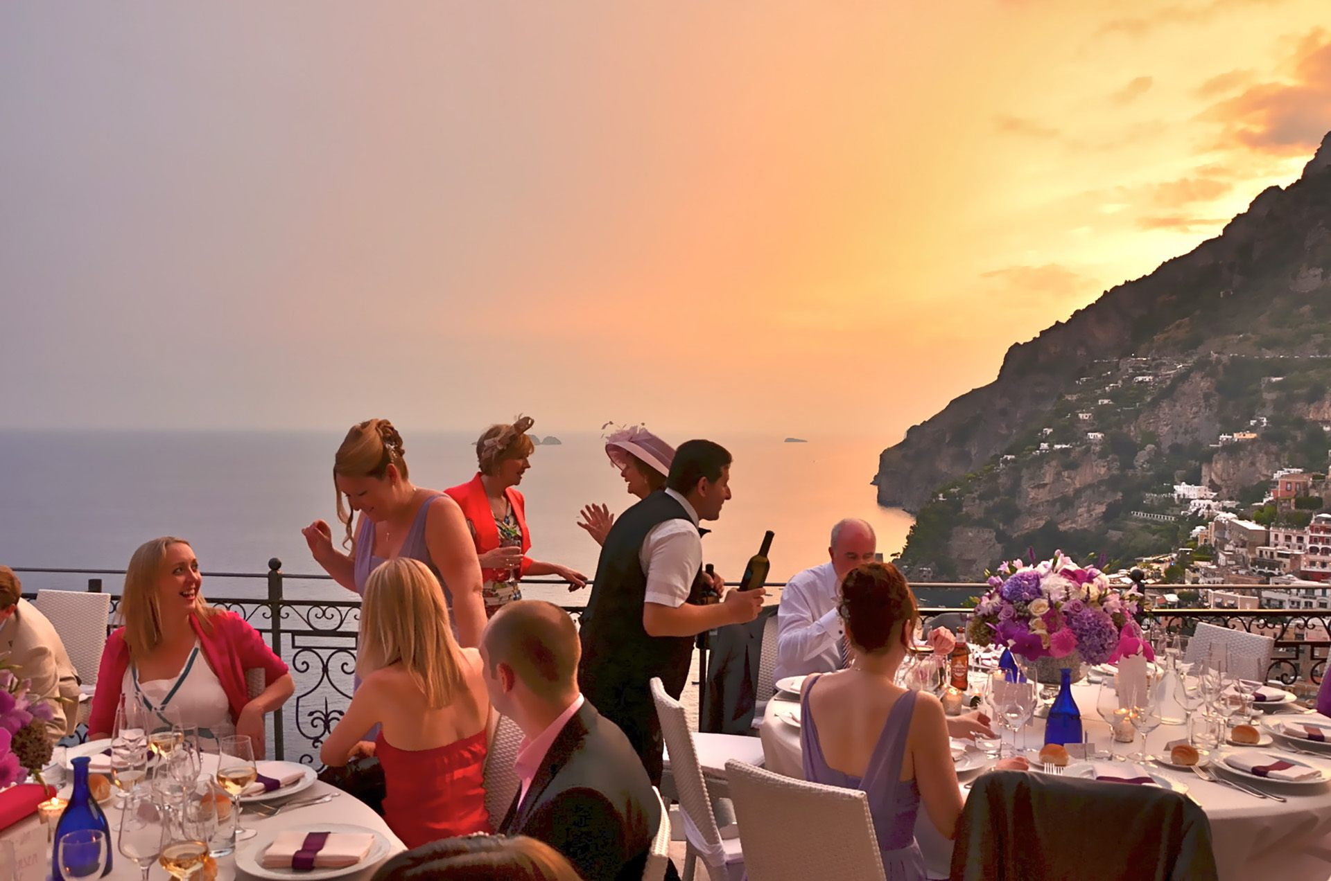 VILLA POSITANO, Event Planning