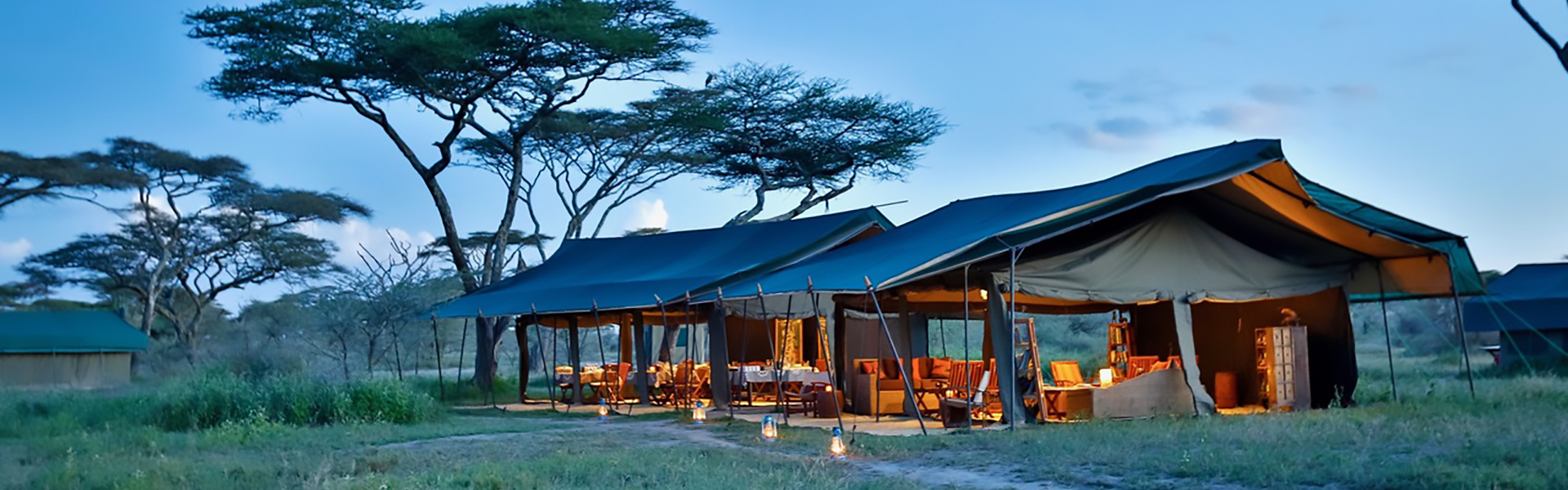 Luxury accommodation and campsite in Tanzania