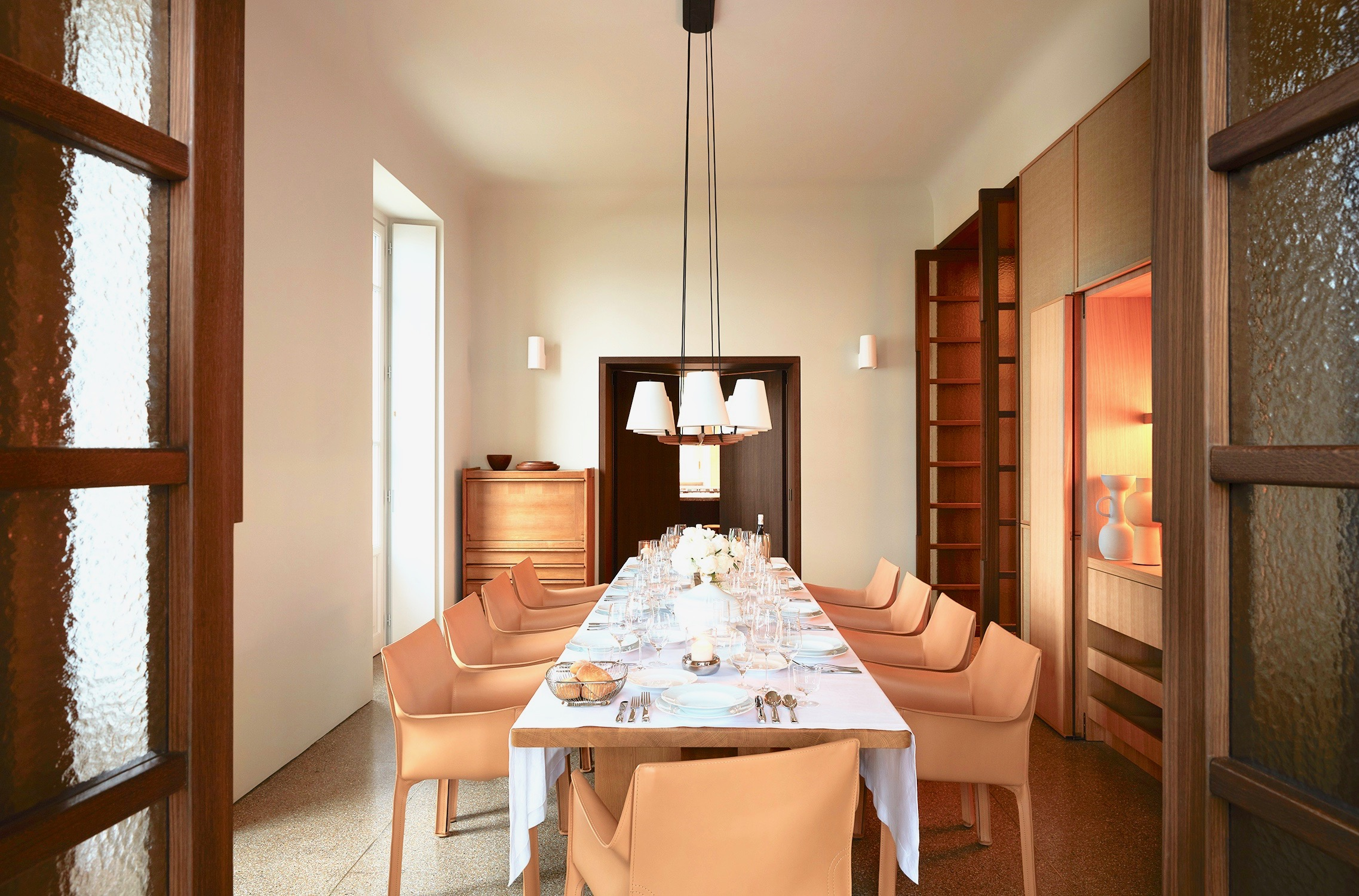 Villa Peduzzi Pigra Lake Como Ground Floor Formal Dining Room