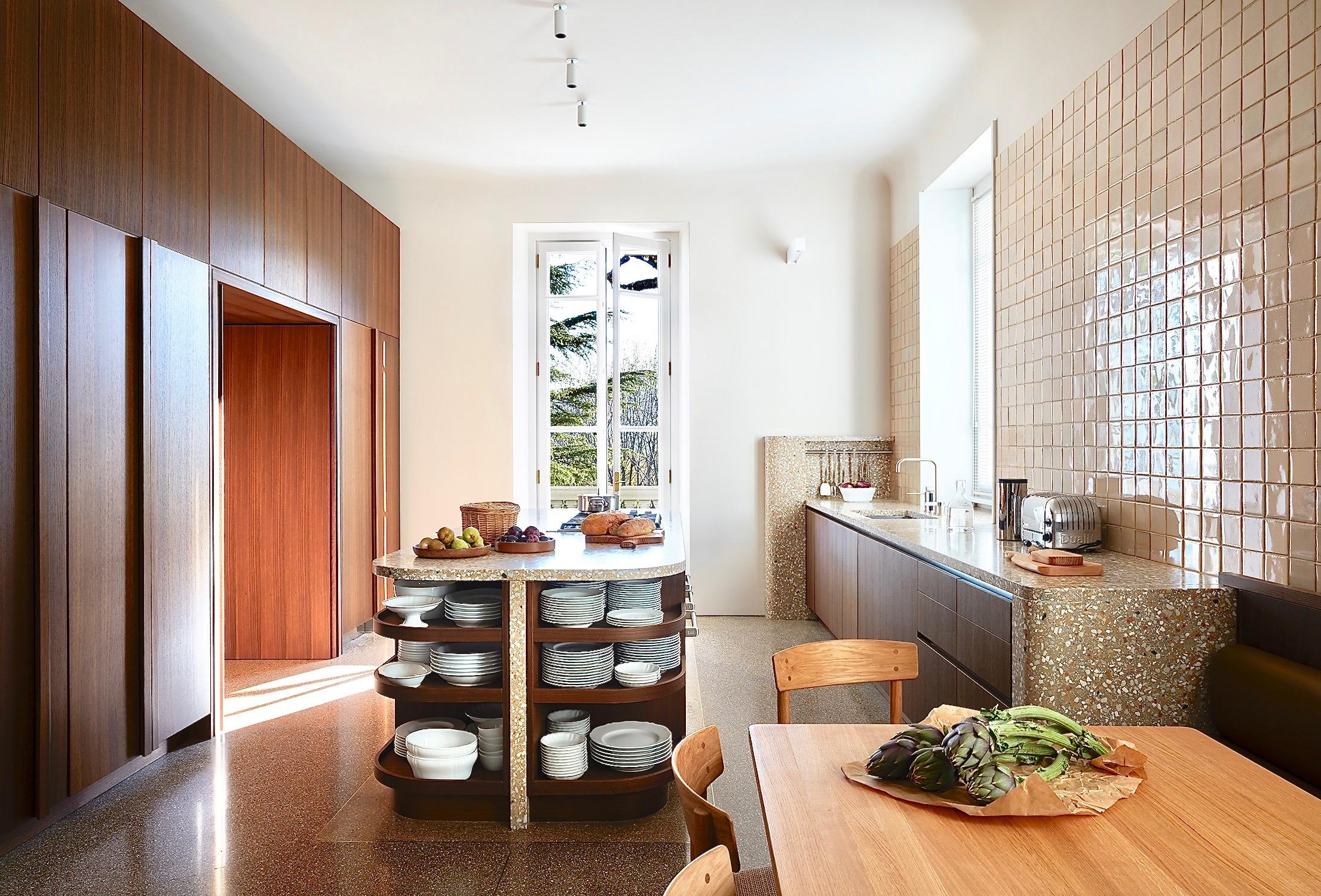 Villa Peduzzi Pigra Lake Como Ground Floor Kitchen