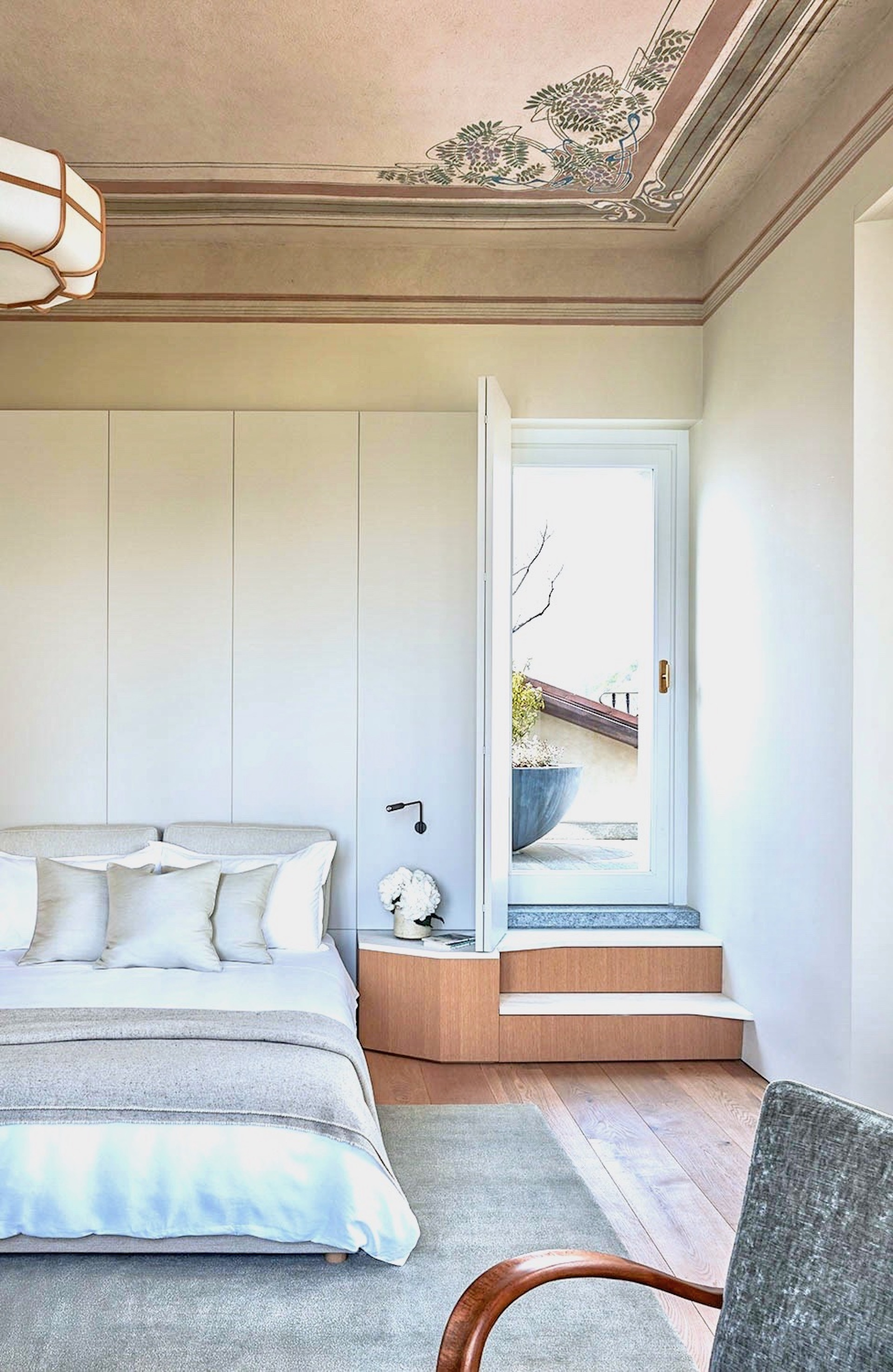 Villa Peduzzi Pigra Lake Como Third Floor Double Bedroom
