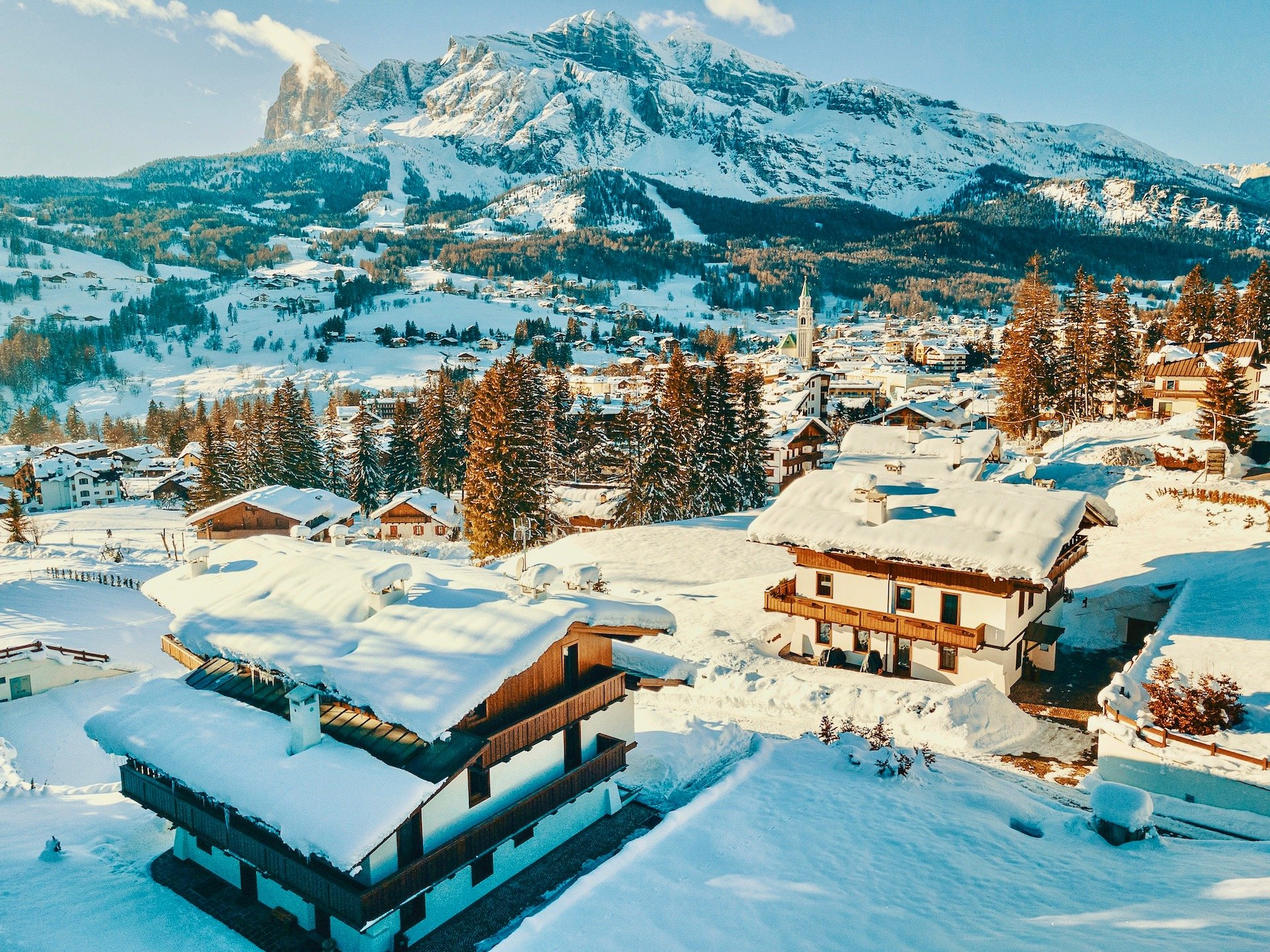 Chalet & Cortina Sunny View