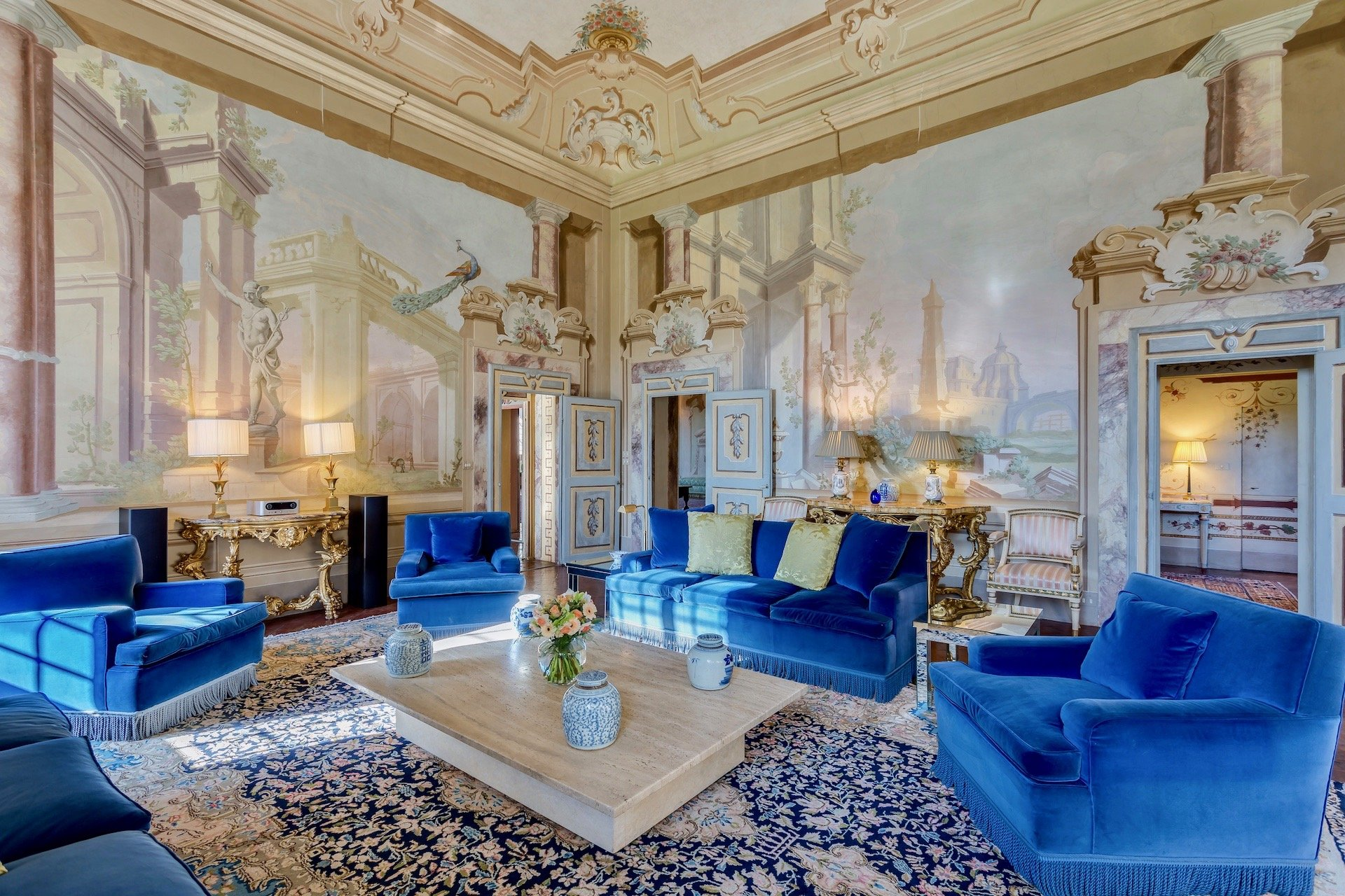 12. The Blue Living Room
