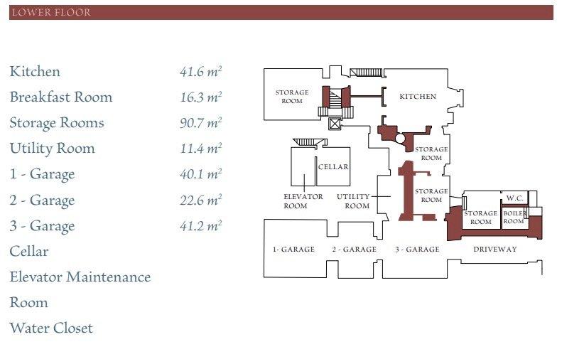 Floor Plans Lower Floor